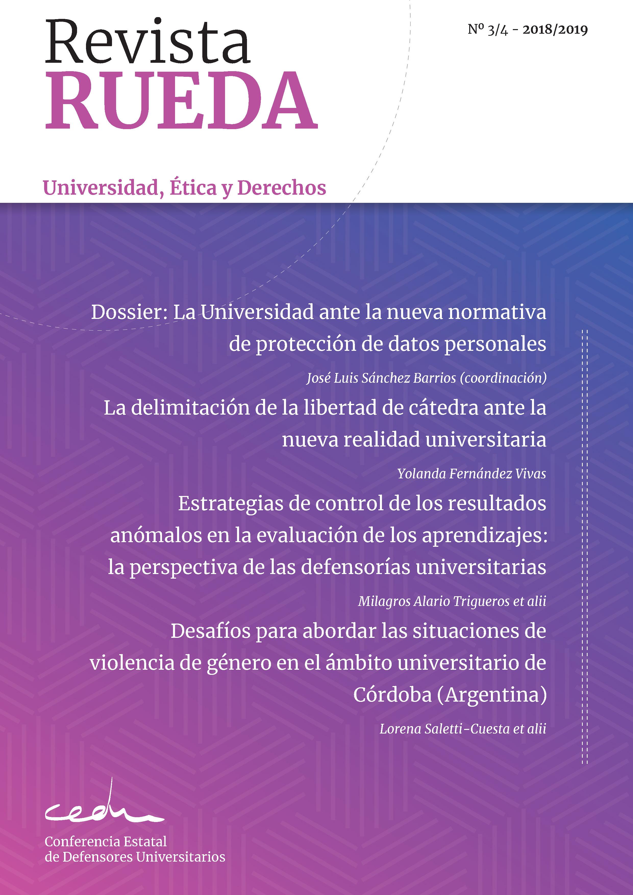 Revista Rueda Num. 3-4- 2018/2019