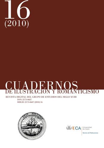 Cuadernos de Ilustración y Romanticismo, número 16